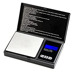 Esky® Digital Scale for Jewelry, Reloading, Kitchen, 1000*0.1g, Black