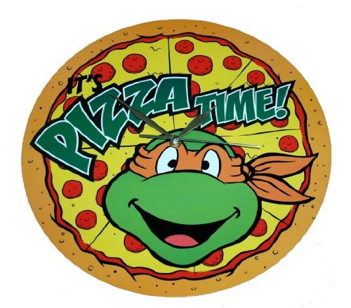 Teenage Mutant Ninja Turtles Pizza Time Clock Findgift Com