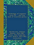 img - for Anthology of magazine verse for ... and year book of American poetry: 1917 book / textbook / text book