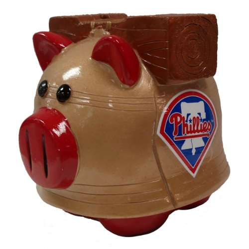 MLB Philadelphia Phillies Small Thematic Piggy Bank at Amazon.com