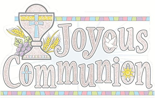 Communion Glitter Cutout