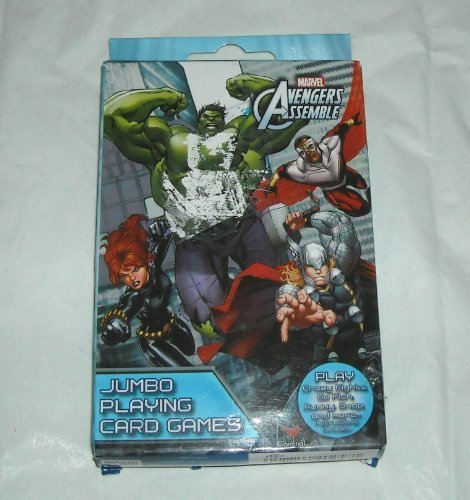 Marvel Avengers Assemble - Jumbo Playing Cards