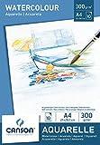 Canson 200005789 - Aquarellpapier A4, 300 g/m², 10 Blatt, weiß von Canson