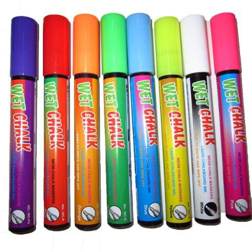 Neon Wet Chalkboard Markers