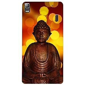 Lenova K3 Note Buddha Printed back cover