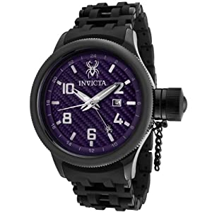 Invicta Men's 0564 Russian Diver Collection GMT Carbon Fiber Dial Watch