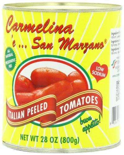 Carmelina Brands, Italian Whole Peeled Tomatoes In Puree,