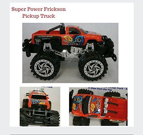 Red Bugbear Power Champion Friction Big Wheel Super Power Pickup Truck - 1