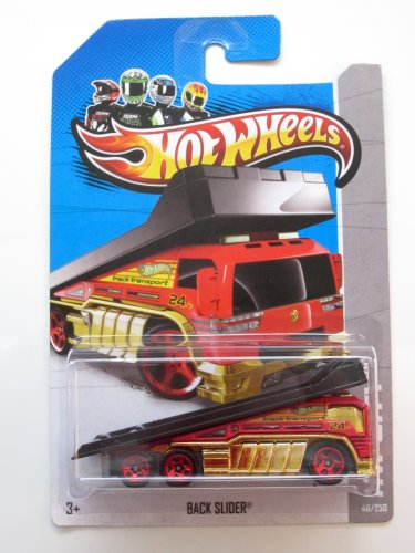 Hot Wheels Back Slider (HW City - 2013) 46/250 - 1