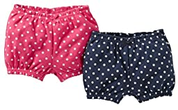 Carter\'s 2 Pack Shorts - Pink-9 Months