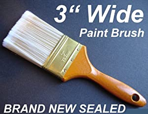 3 wide paint brush oil water base painter painting supply for Best paint brush brands