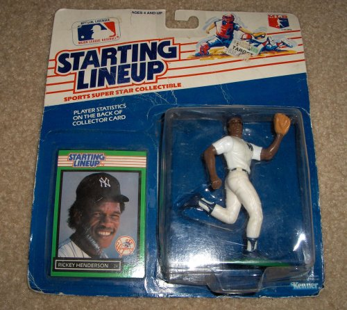 1988 Starting Lineup Rickey Henderson - 1