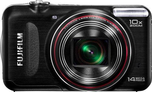 Fujifilm FinePix T300 14 MP Digital Camera with Fujinon 10x Wide Angle Optical Zoom Lens (Black)