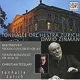 Violin Concerto Op. 61, Violin Romances Op. 40 (Zinman)