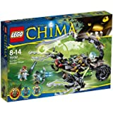 Lego Legends Of Chima - Playthèmes - 70132 - Jeu De Construction - Le Lance-missiles Scorpion De Scorm
