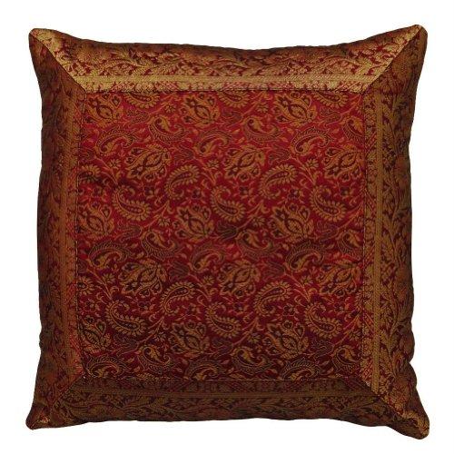 decorazioni per la casa cuscino broccato floreale patchwork federa progettista india 16'' pollici