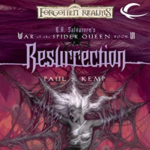 Resurrection: Forgotten Realms: War of the Spider Queen, Book 6 | [Paul S. Kemp]