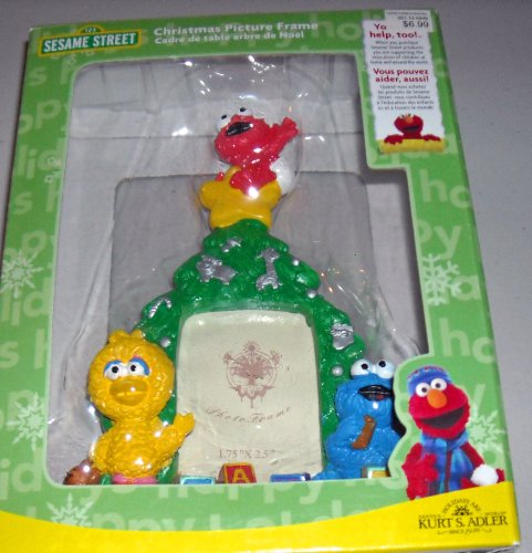 Sesame Street Christmas Picture Frame - 1