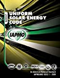 2009 Uniform Solar Energy Code