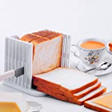 TOOGOO Kitchen Pro Bread Loaf Slicer Slicing Cutter Cutting Cuts Even Slices Guide Tool