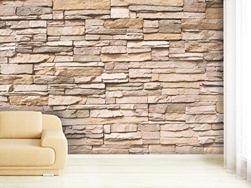 fototapete stonewall in verschiedenen gr en als papiertapete oder vliestapete w hlbar pvc. Black Bedroom Furniture Sets. Home Design Ideas
