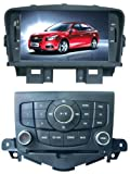 ChiLin Chevrolet Cruze Intelligent Navigation System with High Touchscreen GPS DVD Player Built-in GPS,Bluetooth,TV,AM/FM with RDS, iPod,steering wheel control,rear view camera input