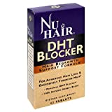 Nu Hair DHT Blocker Hair Regrowth Support Formula Tablets, 42-Count Bottle Bargain