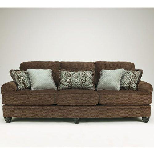 Crawford Chocolate Living Room Set