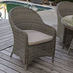 Trend Mingle All Weather Wicker Patio Dining Chair Set