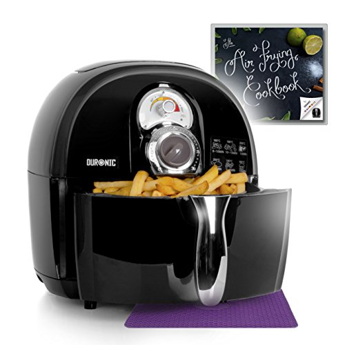 Duronic Air Fryer AF1/B 1500W Multicooker Mini Oven