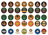 Crazy Cups Extra Bold Sampler, Single-cup coffee for Keurig K-Cup Brewers, 35-Count