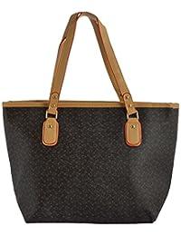 Limit Women's PU Handbag (Black, IDB12)