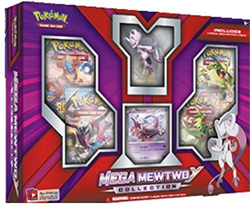 Pokemon TCG Mega Mewtwo Y Figure Collection Box Sealed (Trading Card Box Sealed compare prices)