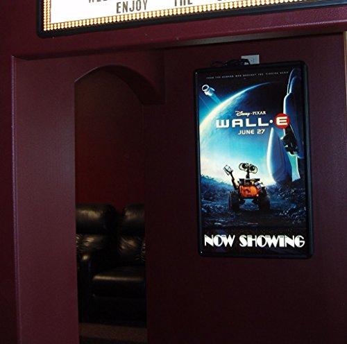 Movie poster led light box display frame cinema lightbox - Lightbox amazon ...