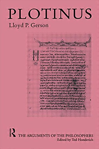 Plotinus-Arg Philosophers (Arguments of the Philosophers)