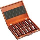 Grizzly H2930 Carving Chisel Set, 12-Piece