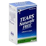 Alcon Tears Naturale Free Eye Drops, Lubricant, Mild/Moderate Dry Eye, Single-Use Vials, 60 - 0.03 fl oz (0.9 ml) vials
