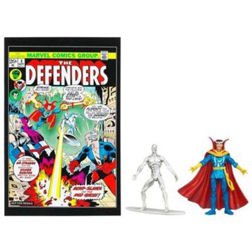 Silver-Surfer-Doctor-Strange-8-Comic-Book-Action-Figure-2-pack