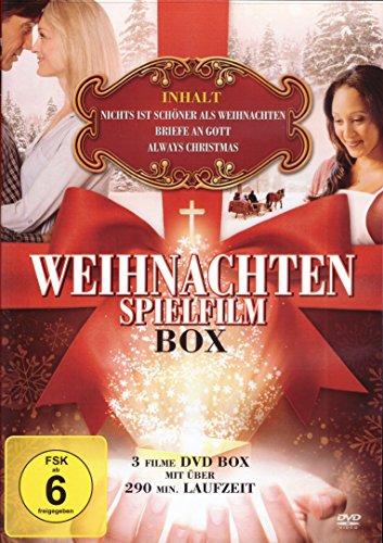 WEIHNACHTEN - SPIELFILM - BOX (Nichts ist schöner als Weihnachten - Briefe an Gott - Always Christmas) (DVD)