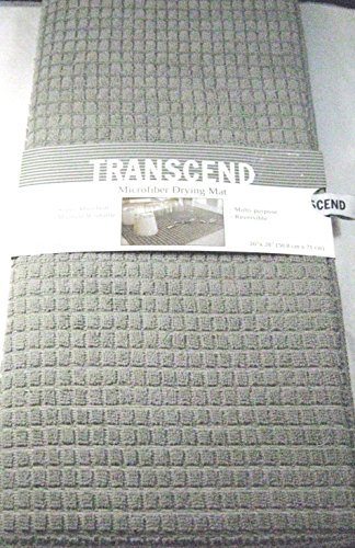 transcend-xl-microfiber-reversible-drying-mat-20-x-28-waffle-lt-gray-by-transcend