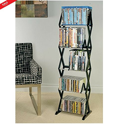 Organizer Media Metal Rack Floating Shelf Storage Geometric Modern Design For Small Spaces ?edroom Living Room ?eens Room Kitchen Lightweight Durable & eBook by BADA shop [+Peso($56.00 c/100gr)] (US.ME.40.41-0-B077SMGZQC.70)