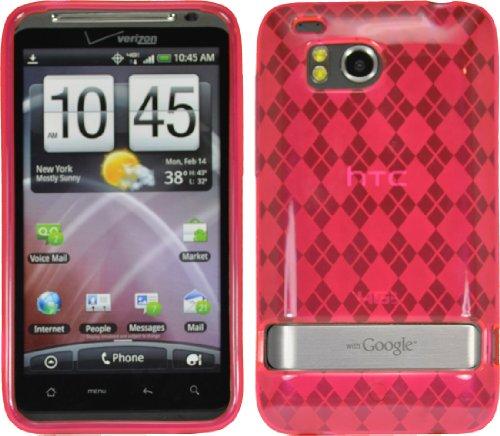 Premium Tpu Flex Gel Skin Case Cover For Htc Thunderbolt 4G 6400 Verizon Pink