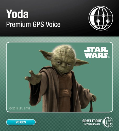 Yoda GPS Voice for TomTom (PC only) [Download] 