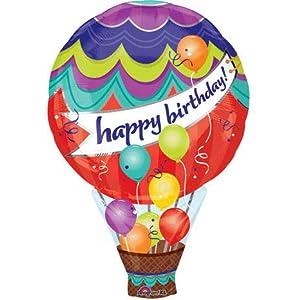 Birthday hot air balloon super shape toys games for Air balloon games