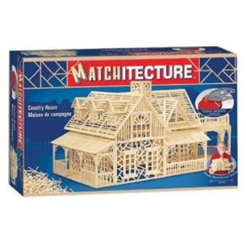 Matchstick Models - Matchitecture : Country House