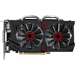ASUS STRIX-GTX950 - Tarjeta gráfica NVIDIA GeForce GTX950 (2 GB ddr5 sdram, DVI, HDMI), negro