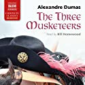 The Three Musketeers Audiobook by Alexandre Dumas Narrated by Bill Homewood