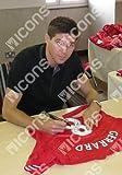 Steven Gerrard Signed Liverpool Shirt