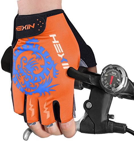 HEXIN Men and Woman Professional Biking Riding Gloves Cycling Gloves