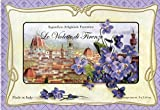 Saponificio Artigianale Fiorentino Violet, 9 x 2.64 Oz. Soap Bars From Italy